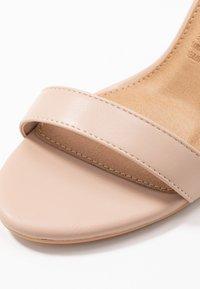 Rubi Shoes by Cotton On - SAN LUIS - Sandaler med høye hæler - pale taupe - 2