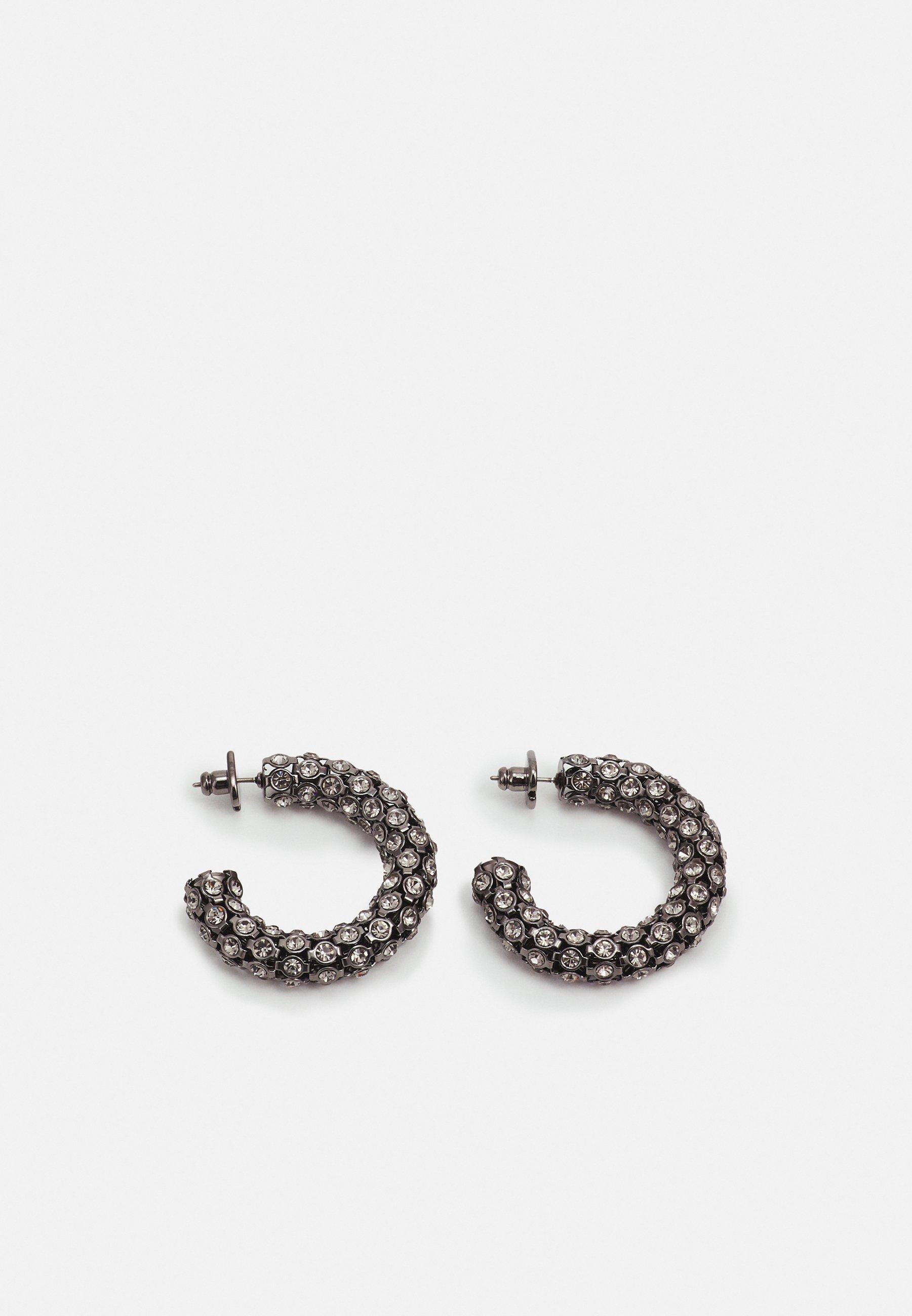 Women HOOPS - Earrings - black