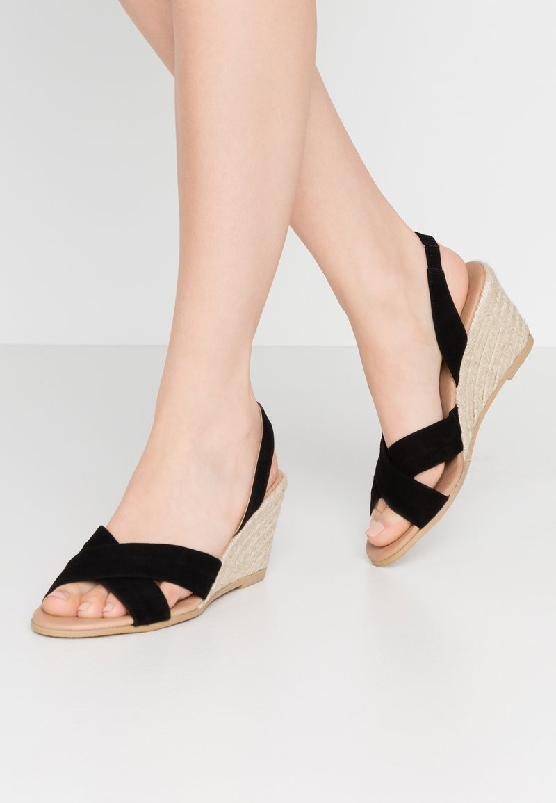 Office Wide Fit - MILLS - Espadrilles - black