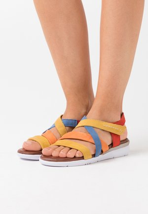 Keilsandalette - multicolor