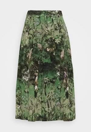 SKIRT - Gonna a campana - green