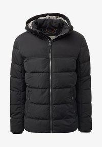 TOM TAILOR - MIT KAPUZE - Winter jacket - black - 4
