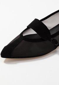 Repetto - MYLEN - Ankle strap ballet pumps - noir - 2