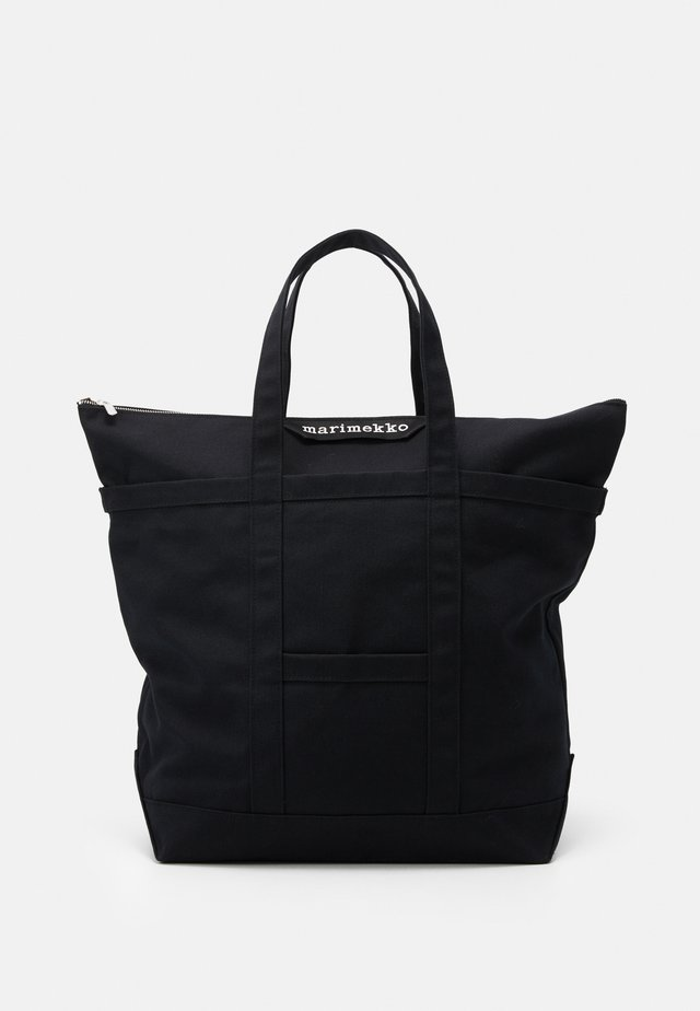 UUSI MATKURI BAG - Shopping bag - black