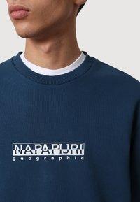 Napapijri - B-BOX - Sweatshirt - blue french - 3