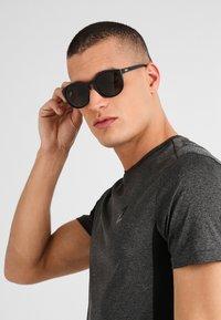POC - KNOW UNISEX - Sunglasses - uranium black/hydrogen white - 0