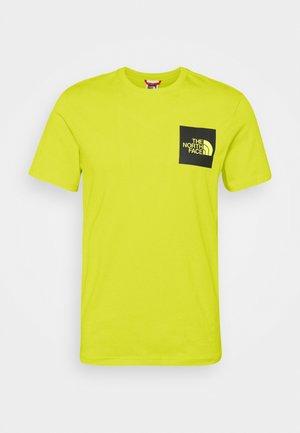FINE TEE - Print T-shirt - sulphur spring green