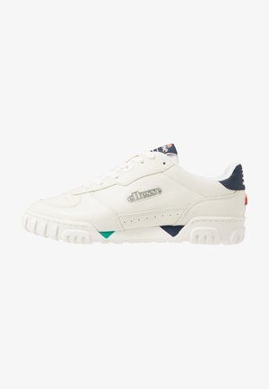 TANKER  - Zapatillas - offwhite/dark blue/green