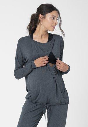 NURSING YOGA - Long sleeved top - charcoal
