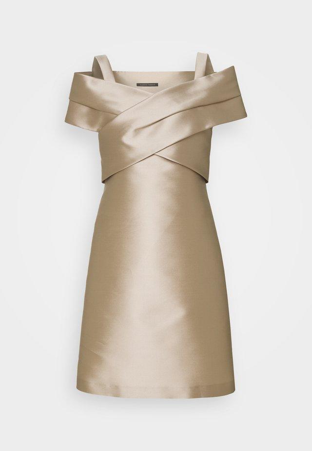 DRESS - Cocktailklänning - beige