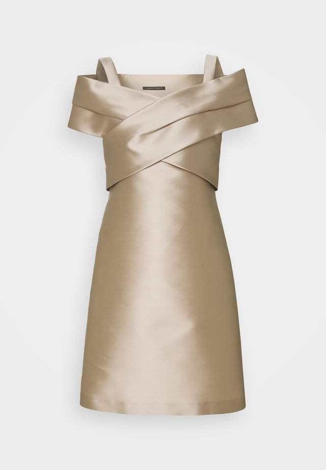 DRESS - Cocktail dress / Party dress - beige