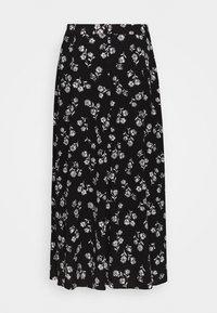 kate spade new york - NERISSA FLORAL SKIRT - Pouzdrová sukně - black - 1