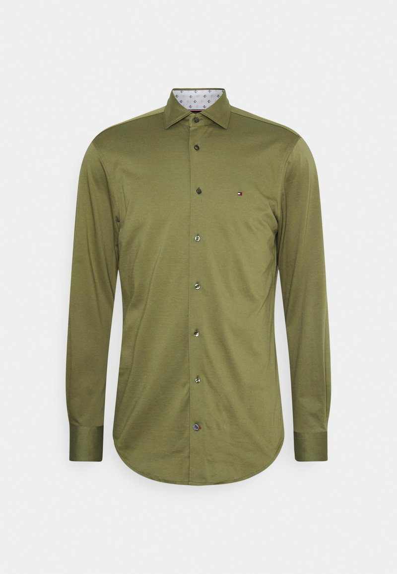 Tommy Hilfiger Tailored - SOLID SLIM SHIRT - Formal shirt - putting green