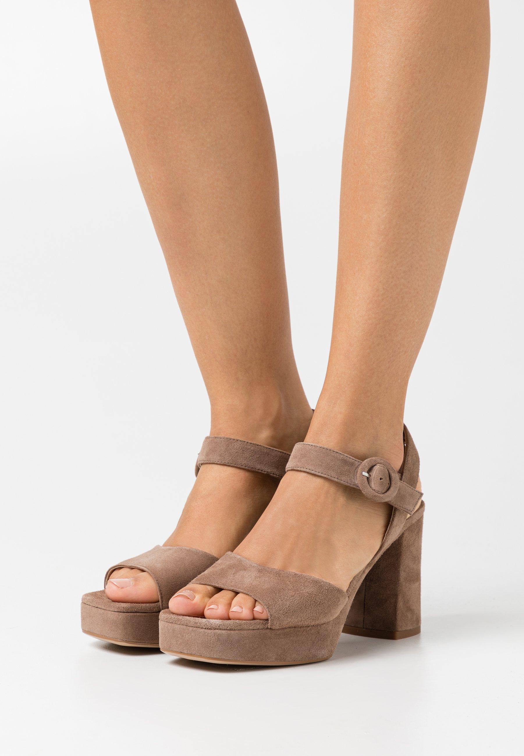 Femme ODRAN - Sandales à plateforme