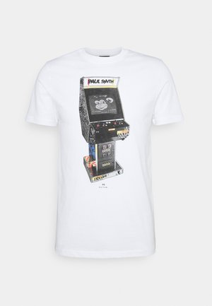 ARCADE UNISEX - Print T-shirt - white