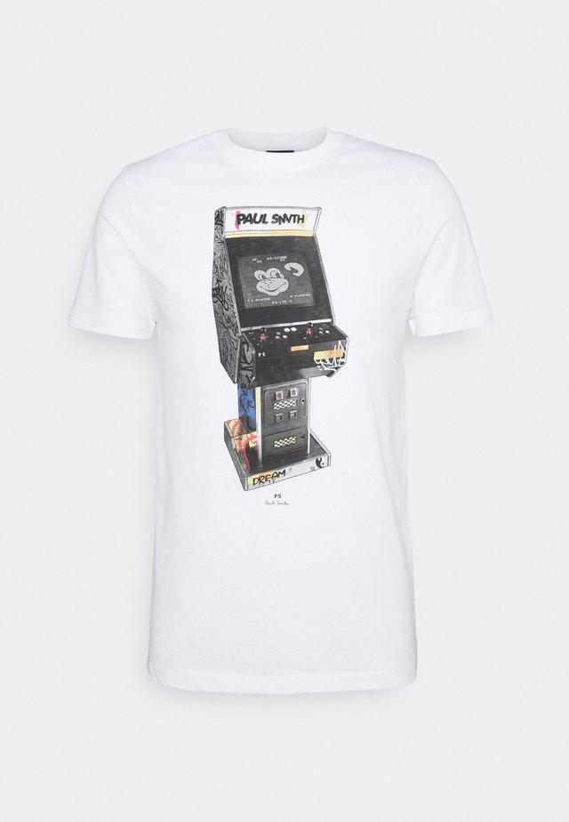 ARCADE UNISEX - T-shirt con stampa - white