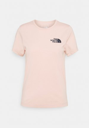 HIMALAYAN BOTTLE SOURCE TEE - Print T-shirt - evening sand pink