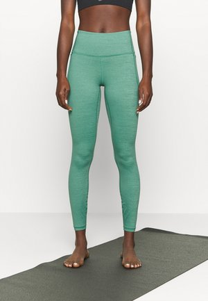 MERIDIAN HEATHER LEGGING - Legging - saxon green