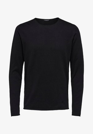 SLHDOME CREW NECK - Jumper - black
