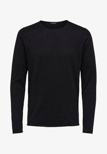 SLHDOME CREW NECK - Jumper - black