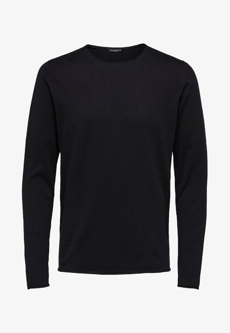Selected Homme - SLHDOME CREW NECK - Jumper - black