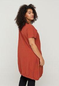 Zizzi - Day dress - orange - 2