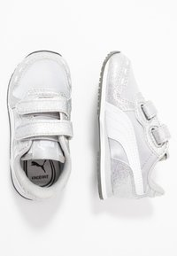 Puma - CABANA RACER GLITZ  - Baskets basses - silver/white/gray violet - 0