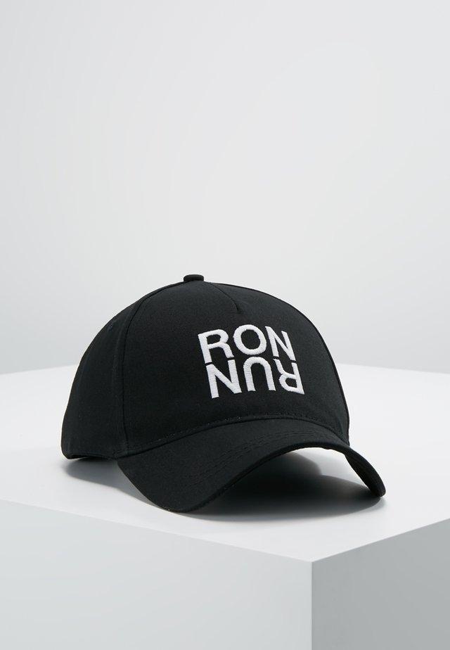 RON RUN - Casquette - black