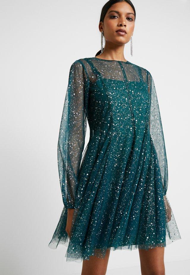 REX DRESS - Korte jurk - forest green