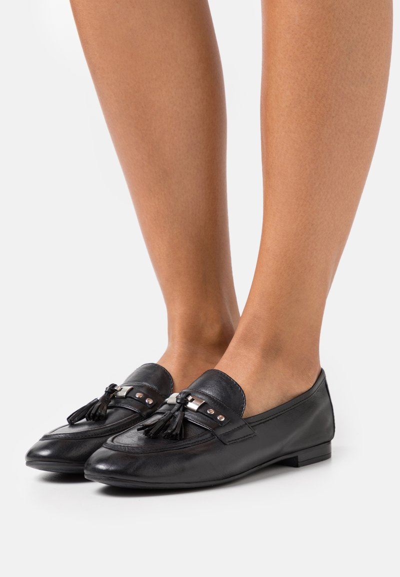 Anna Field - LEATHER - Slip-ins - black