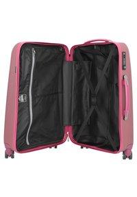 march luggage - NEW CARAT  - Luggage set - burgundi brushed - 4