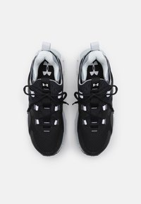 Under Armour - HOVR MEGA MVMNT - Sports shoes - black - 3