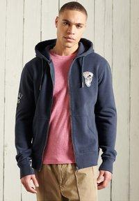 Superdry - Zip-up hoodie - lauren navy - 1