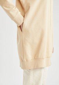 DeFacto - Zip-up hoodie - beige - 5