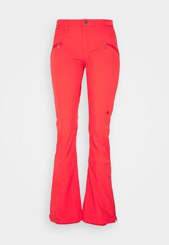 IVY OVER BOOT - Ski- & snowboardbukser - hibiscus pink