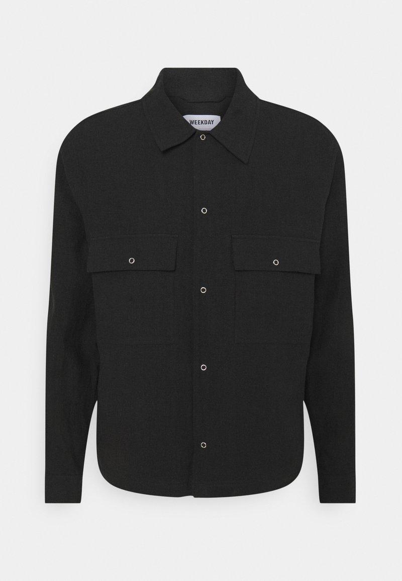 Weekday - ALFRED  - Košile - black