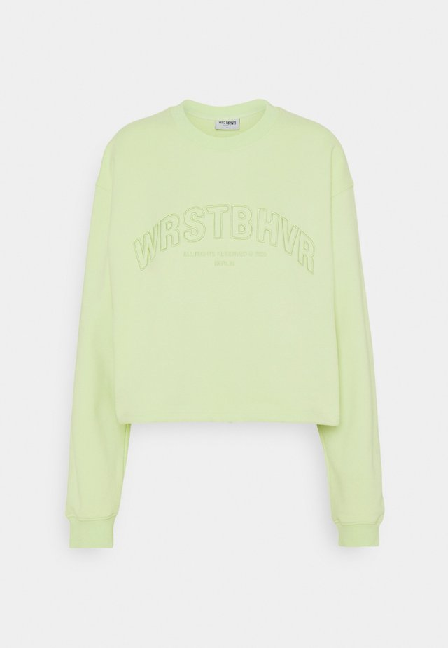 LULA  - Sweatshirt - iced green