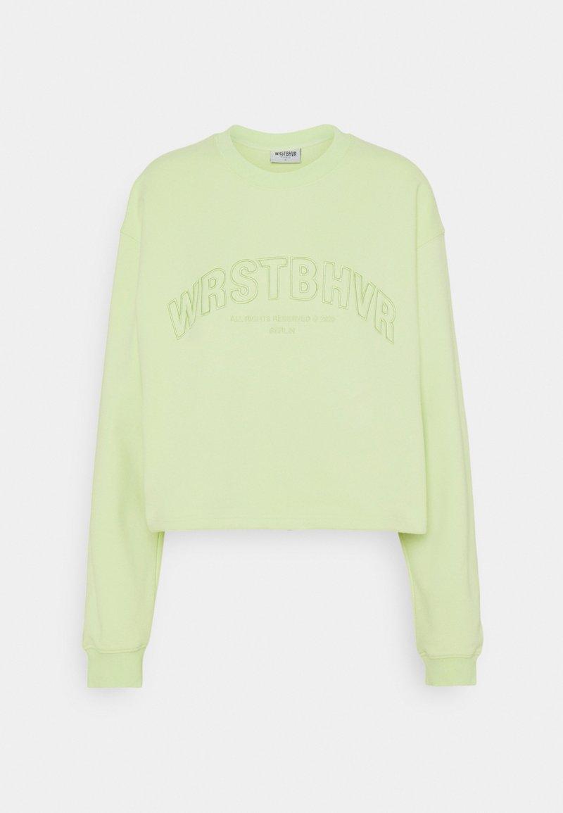 WRSTBHVR - LULA  - Sweatshirt - iced green