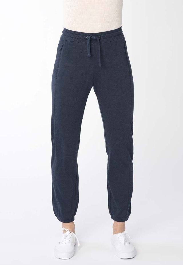 ACTIVE  - Tracksuit bottoms - dark blue