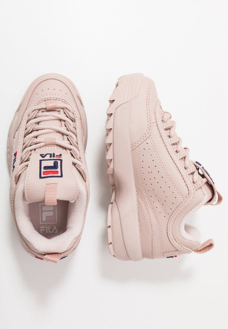Fila - DISRUPTOR KIDS - Sneakers basse - rose smoke