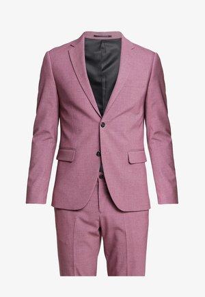 PLAIN MENS SUIT - Jakkesæt - dusty pink melange