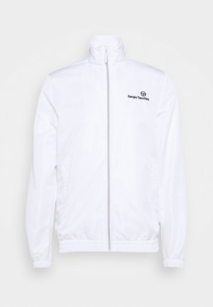 CARSON - Training jacket - blanc de blanc/antracite