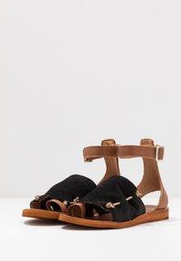 Felmini - CAROLINA  - T-bar sandals - black - 4