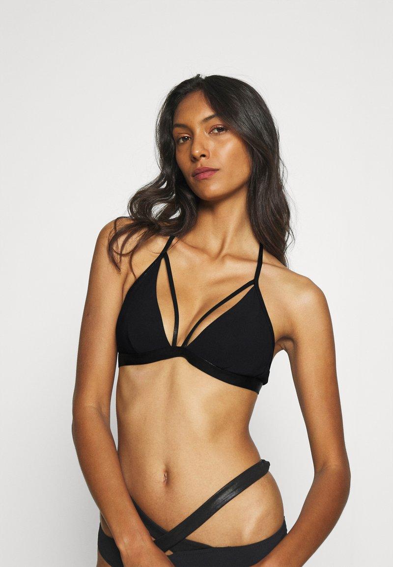 LASCANA - TRIANGEL - Bikini top - black