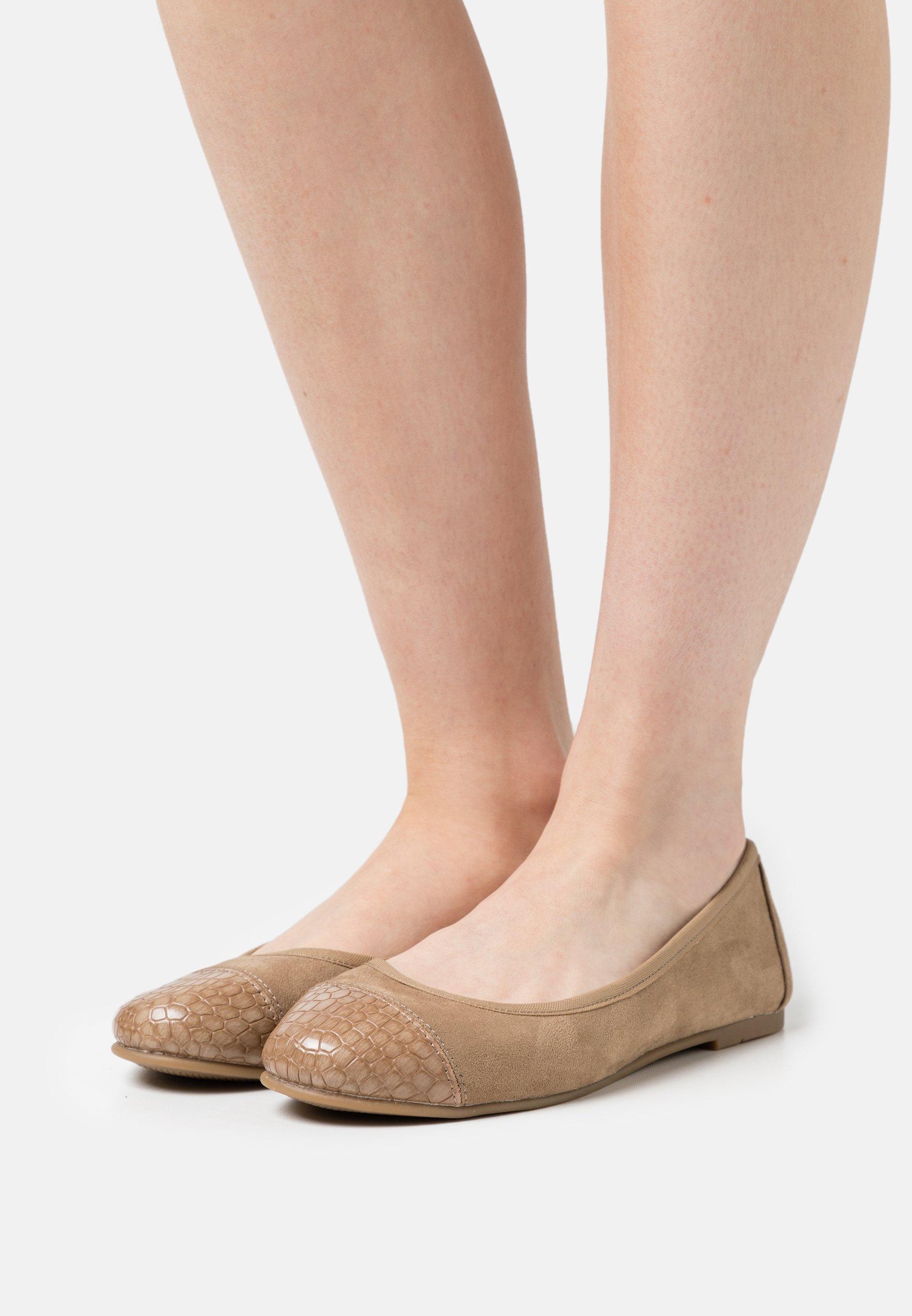 Women Ballet pumps - taupe