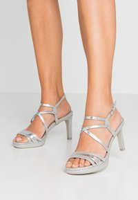 Marco Tozzi - High heeled sandals - silver - 0