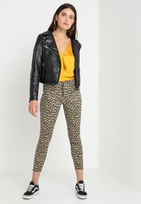 Urban Classics - LADIES BIKER - Veste en similicuir - black - 1