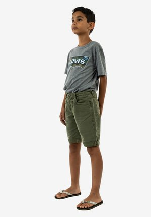 Short en jean - vert