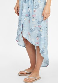 O'Neill - Day dress - blue with pink or purple - 4