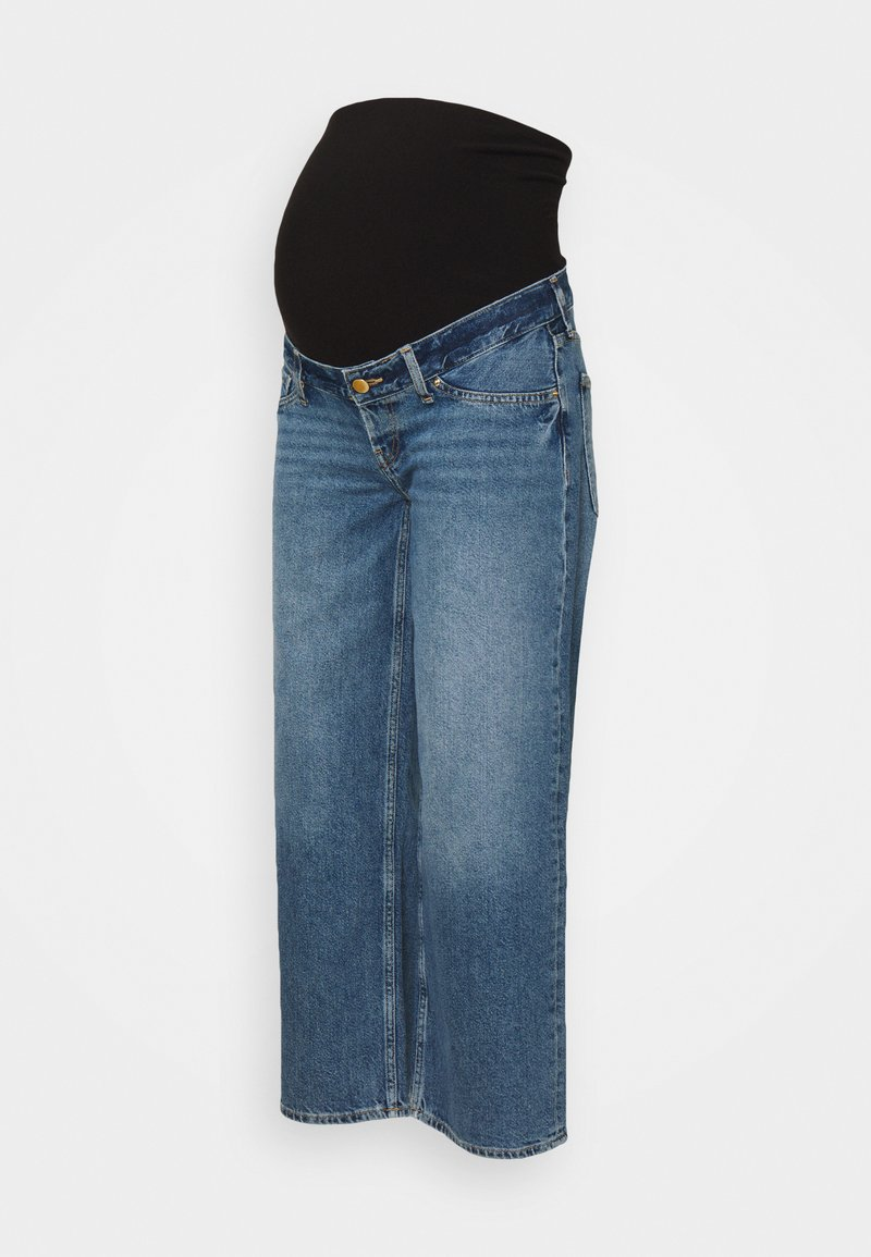 Anna Field MAMA - Straight leg jeans - blue denim